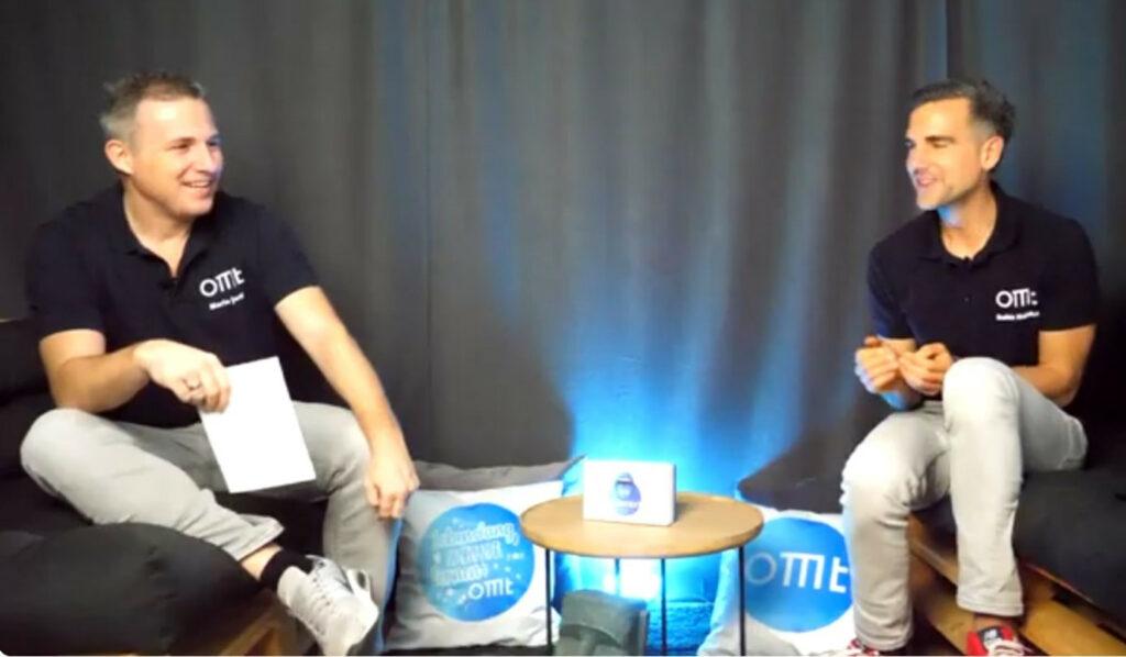 Mario Jung und Robin Heintze von morefire im Gespräch