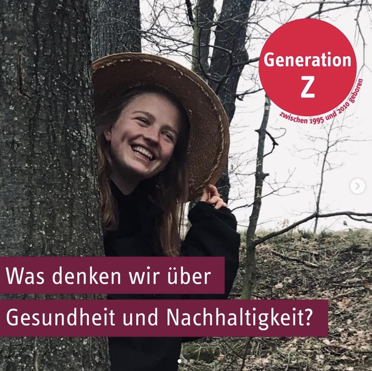 Nachhaltigkeit Gen Z Lara